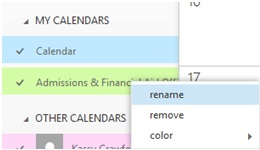 Office 365 Calendar Screenshot 4